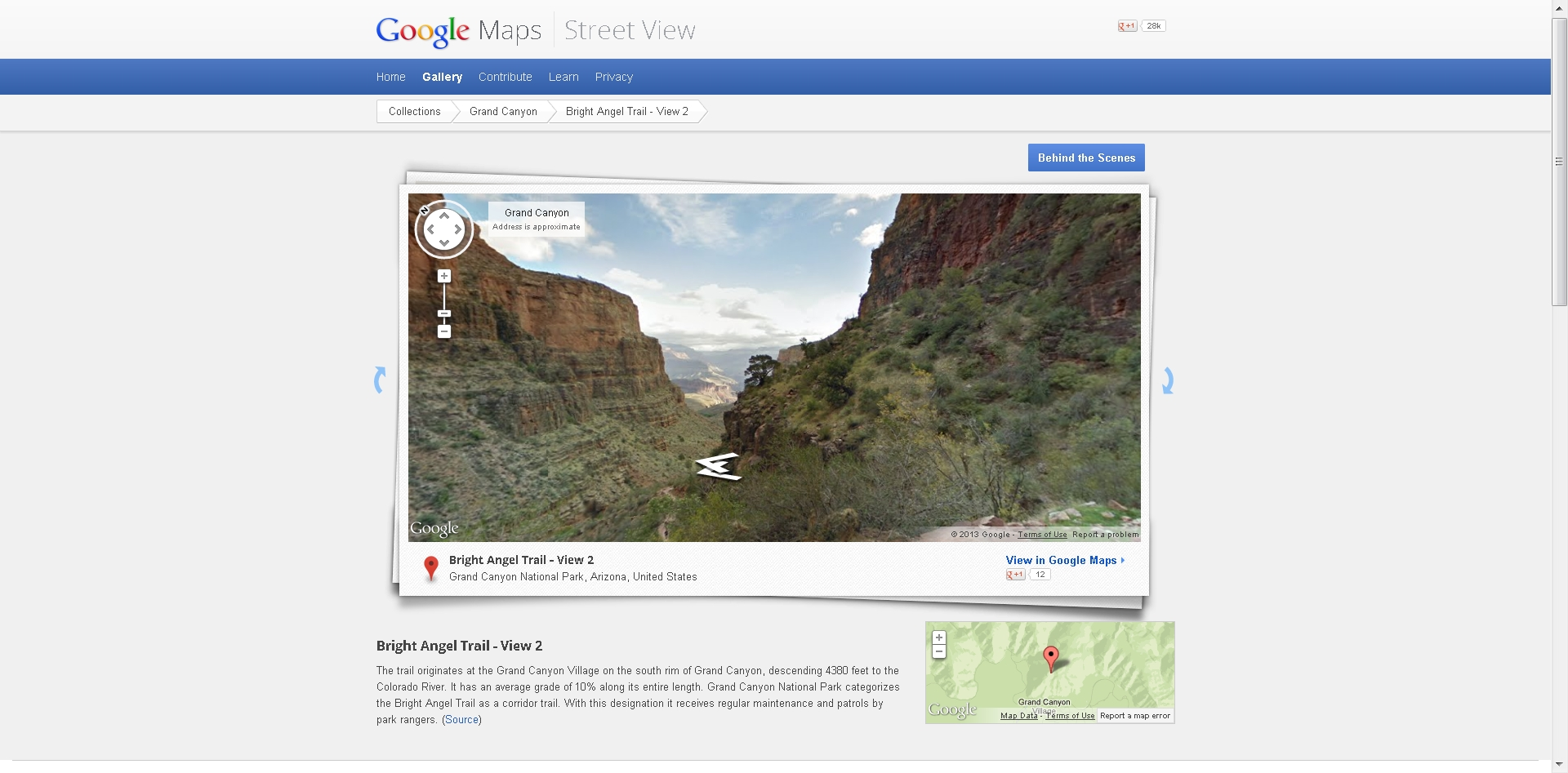 Free For All Grand Canyon Street View Apollo Mapping